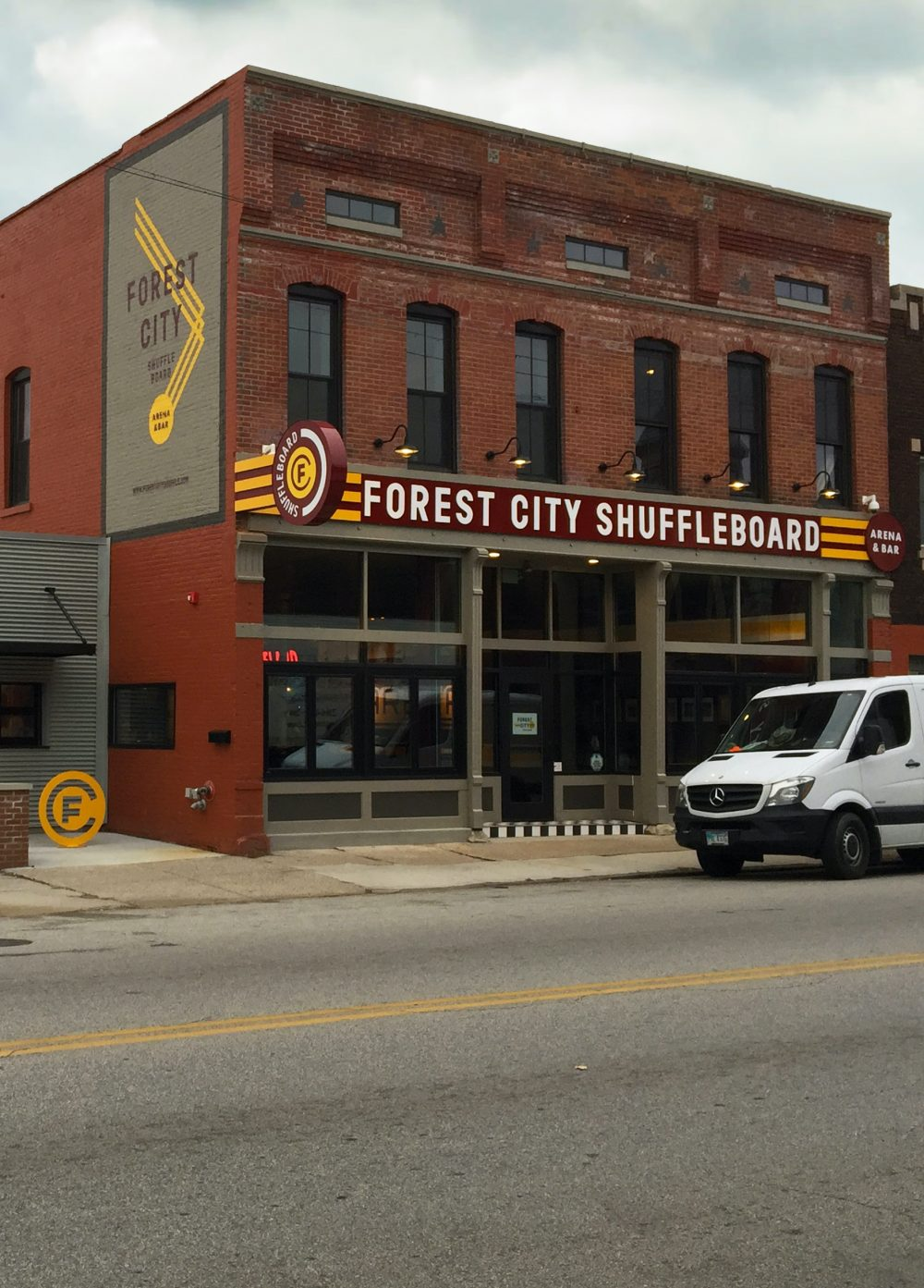 Forest City Shuffle Board Project